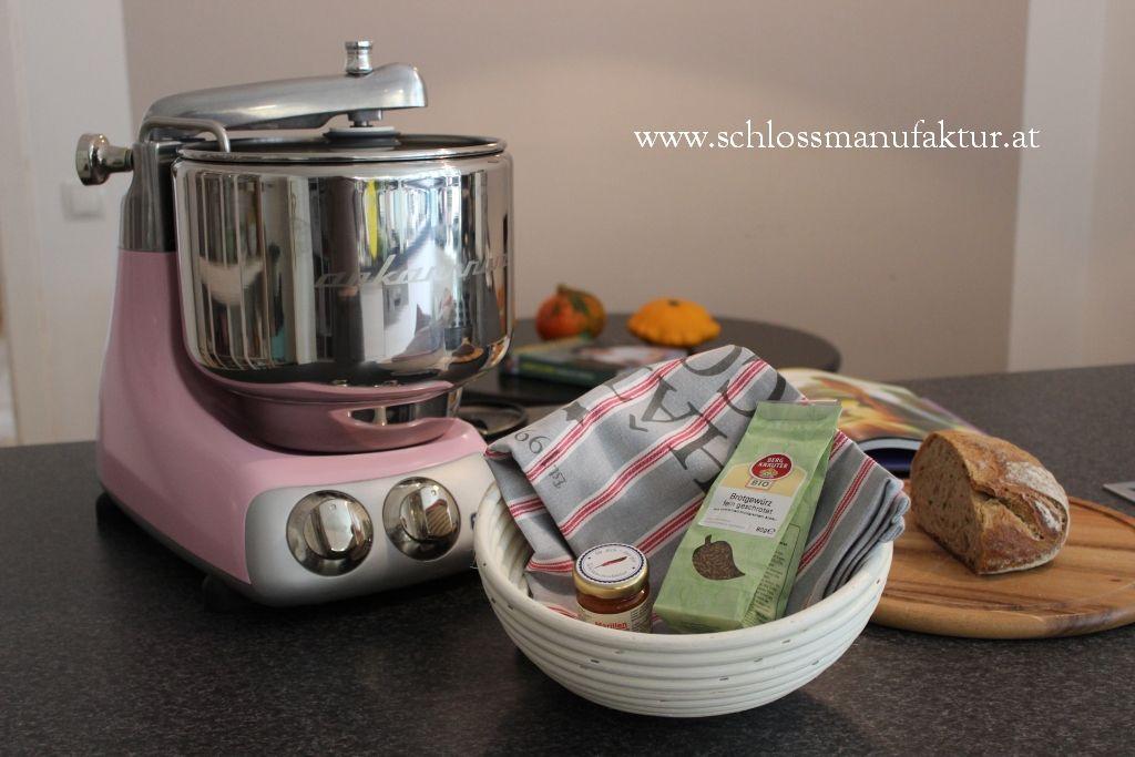 Meine rosa Ankarsrum Küchenmaschine Ankarsrum - Rezepte  Fotos
