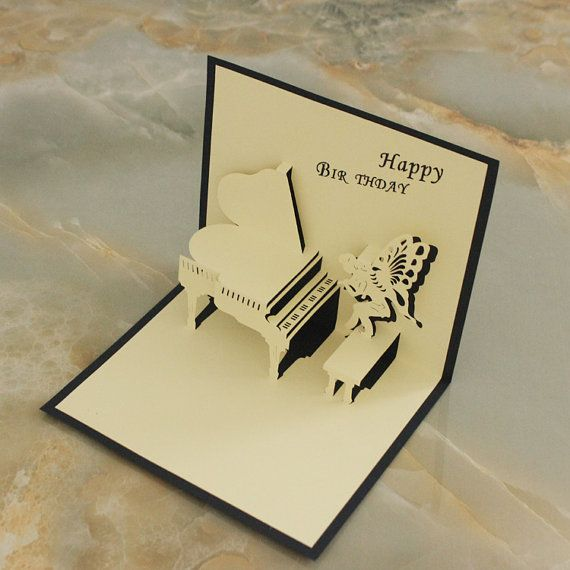 Pop Up Birthday Card Love You Girls Gift Diy Card Chinese Etsy In 2020 Pop Up Card Templates Birthday Card Template Diy Girl Gifts
