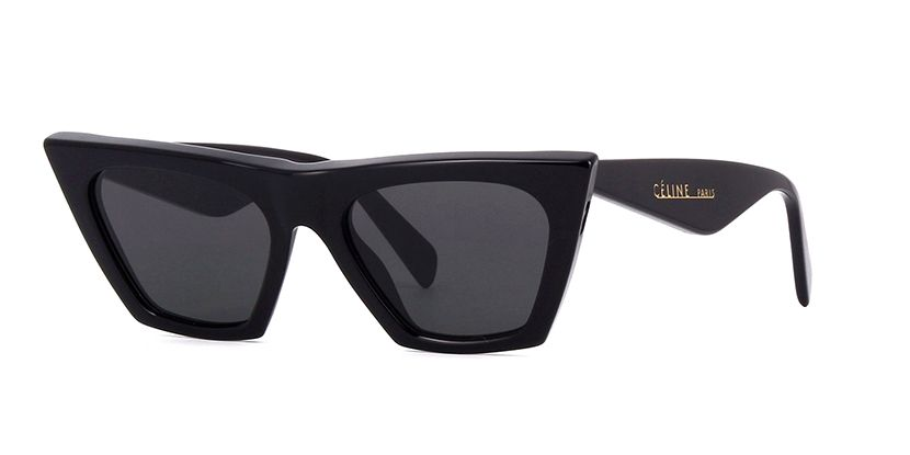 f5a0821f3bbb Celine Edge CL41468 S 807IR Black Sunglasses