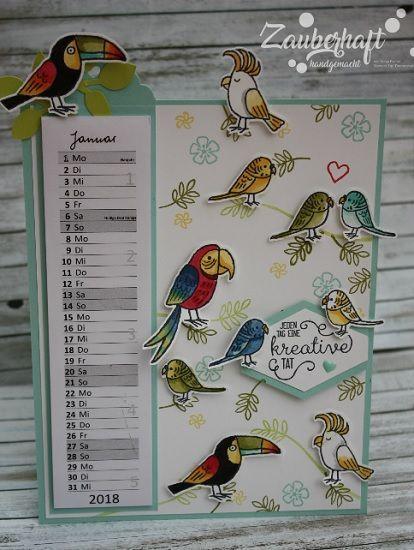 Grußgezwitscher (Zauberhaft-handgemacht) | Bird cards ...