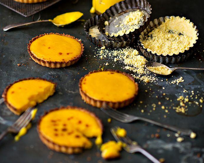 Petite citron tarts. Photograph by Jani Shepherd.