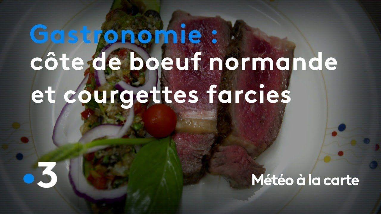 Gastronomie Cote De Bœuf A La Normande Et Courgettes Farcies