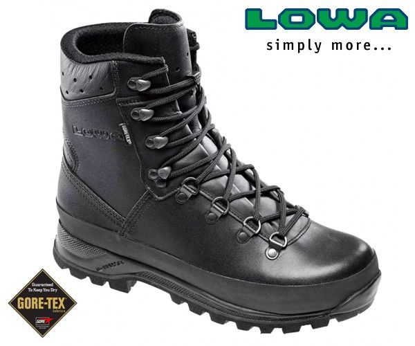 81d0a3028d3 Lowa/Meindl/Haix/Hanwag Mountain GTX Boot Black | cipő in 2019 ...