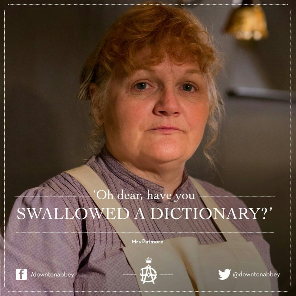 Downton Abbey Character What A Funny Thing To Say Downton Abbey Downton Abbey Quotes Downton