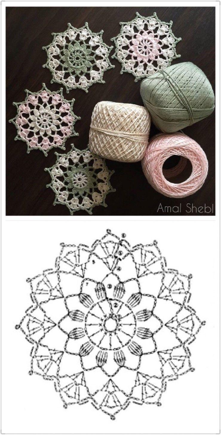 6번째 이미지 | Graficos | Pinterest | Ganchillo, Croché y Ganchillo ...