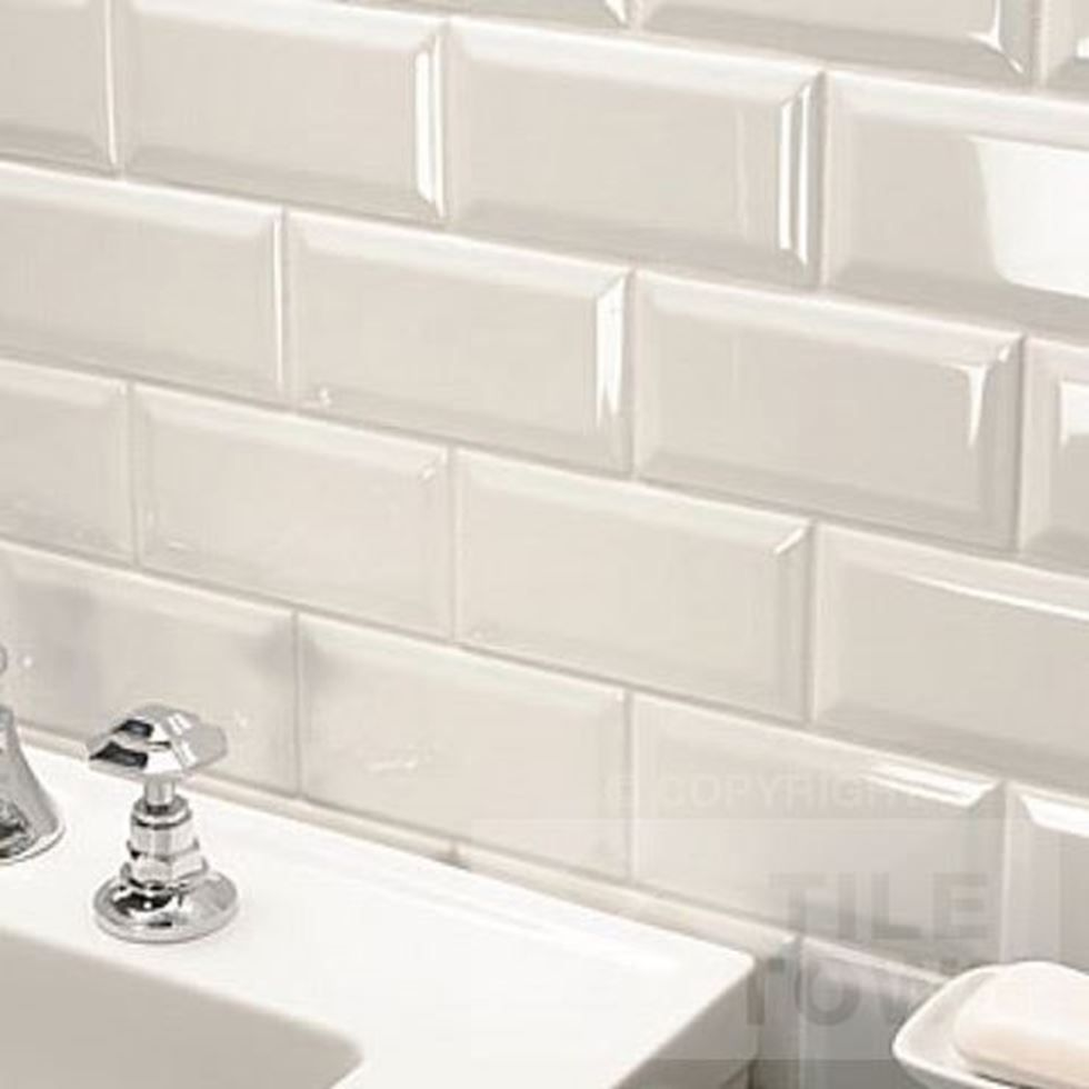 Metro Bone Bathroom Wall Tile This Off White Ivory Coloured Kitchen Bathroom Wall Tile Has A