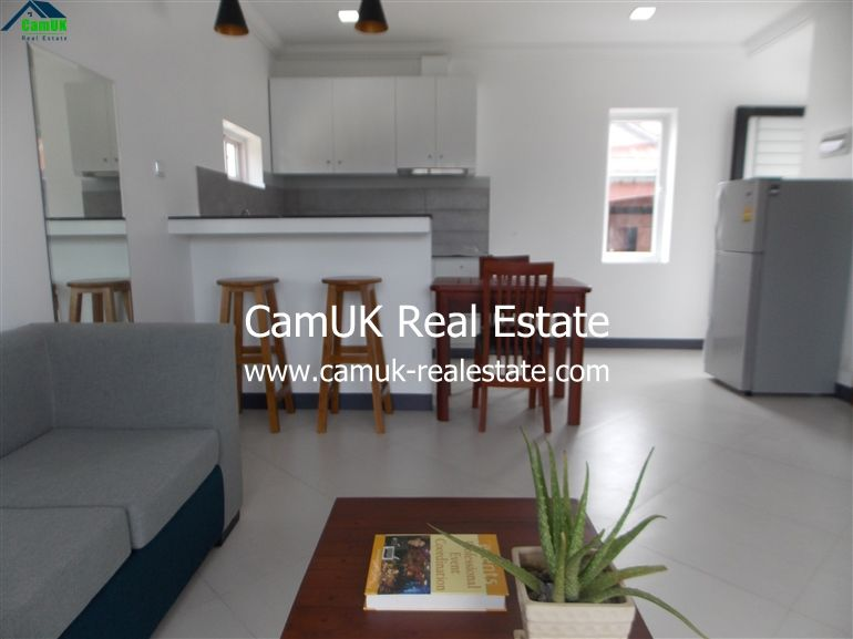 Glamorous 1 Bedroom Apartment For Rent Is Situated In Slor Kram Commune Siem Reap Town The Property Comes Apartments For Rent 1 Bedroom Apartment Apartment