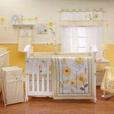 Adorable Sunflower Nursery Baby Girl Crib Bedding Crib Bedding