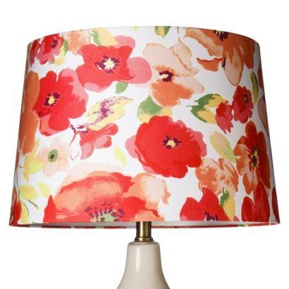 Threshold Floral Lamp Shade Large Modern Lamp Shades Wall