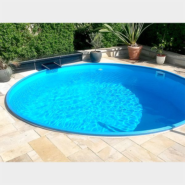 Poolfolie rund cheap poolfolie rund with poolfolie rund for Ersatzfolie pool rund