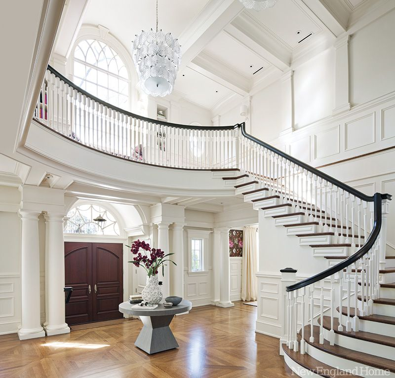 Beautiful Front Hall And Staircase: {house Beautiful}