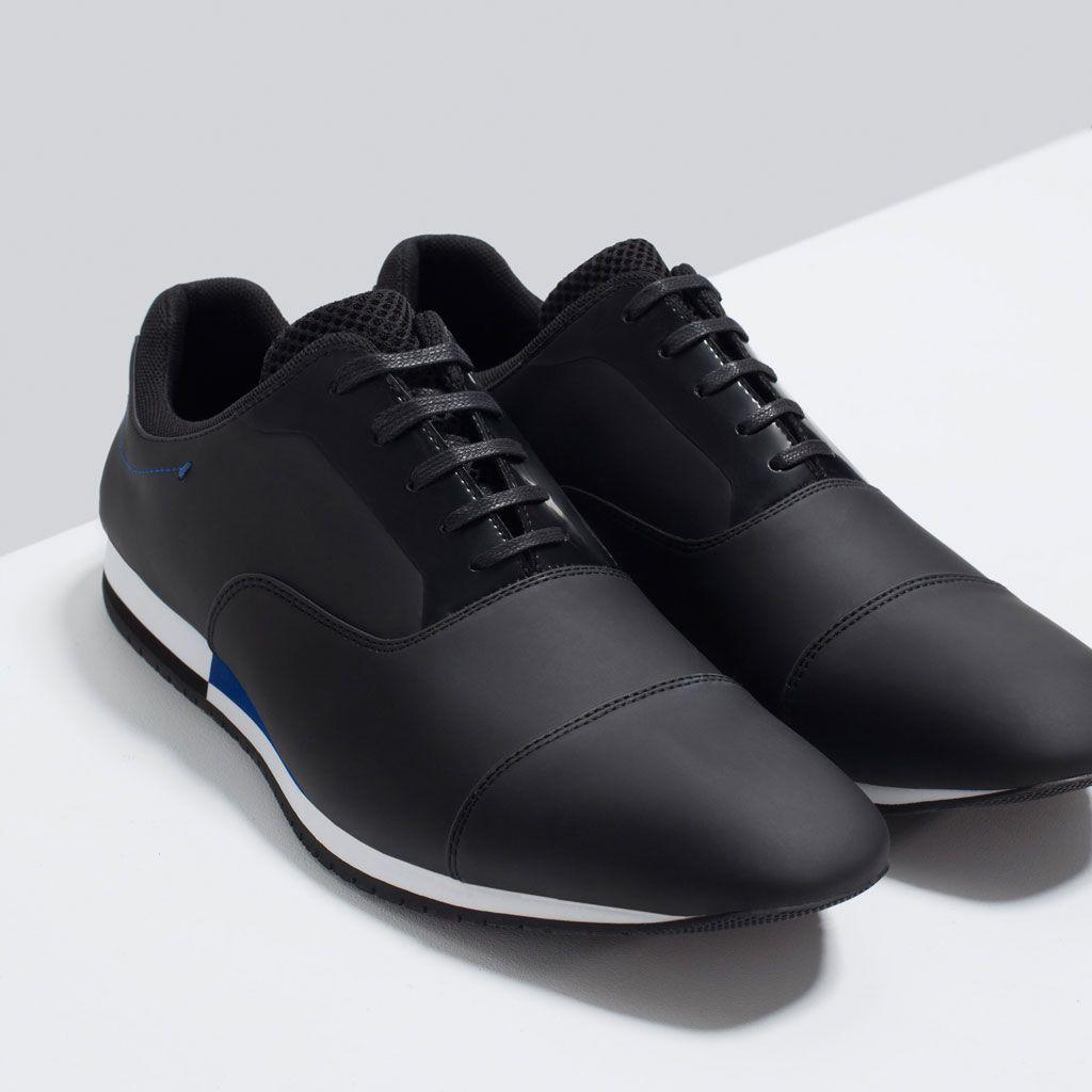 Lace Zara Man Zapatos Casual K1ctflj Shoesmen Contrast Ups nkXOwP80