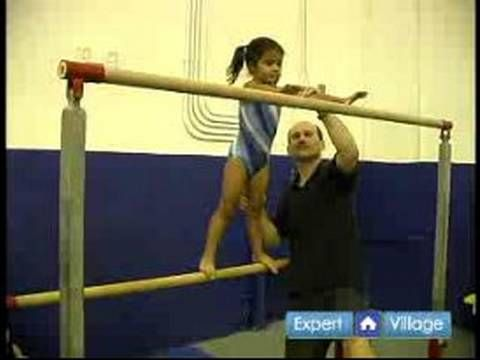 How to Teach Preschool Gymnastics : Bar Exercises for Preschool Gymnastics