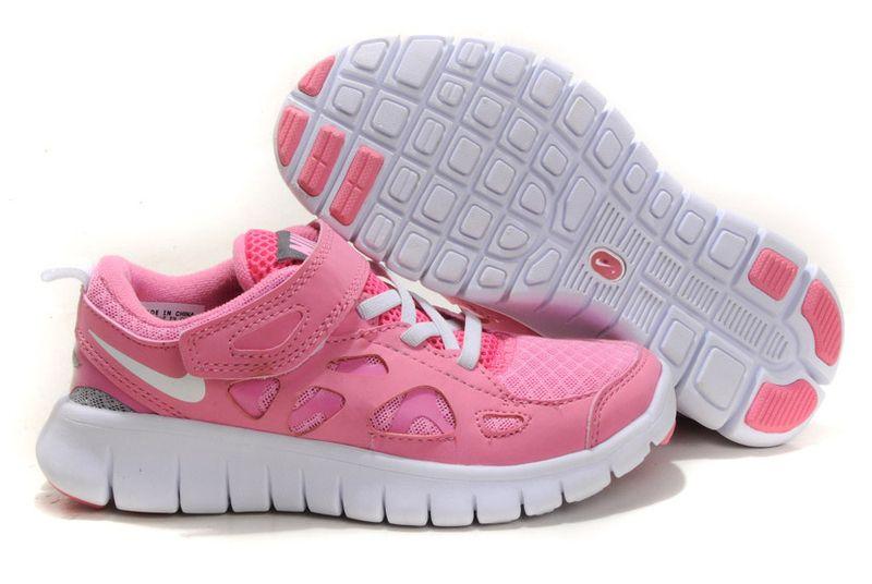 Nike Free Run 2 Kids Shoes Pink