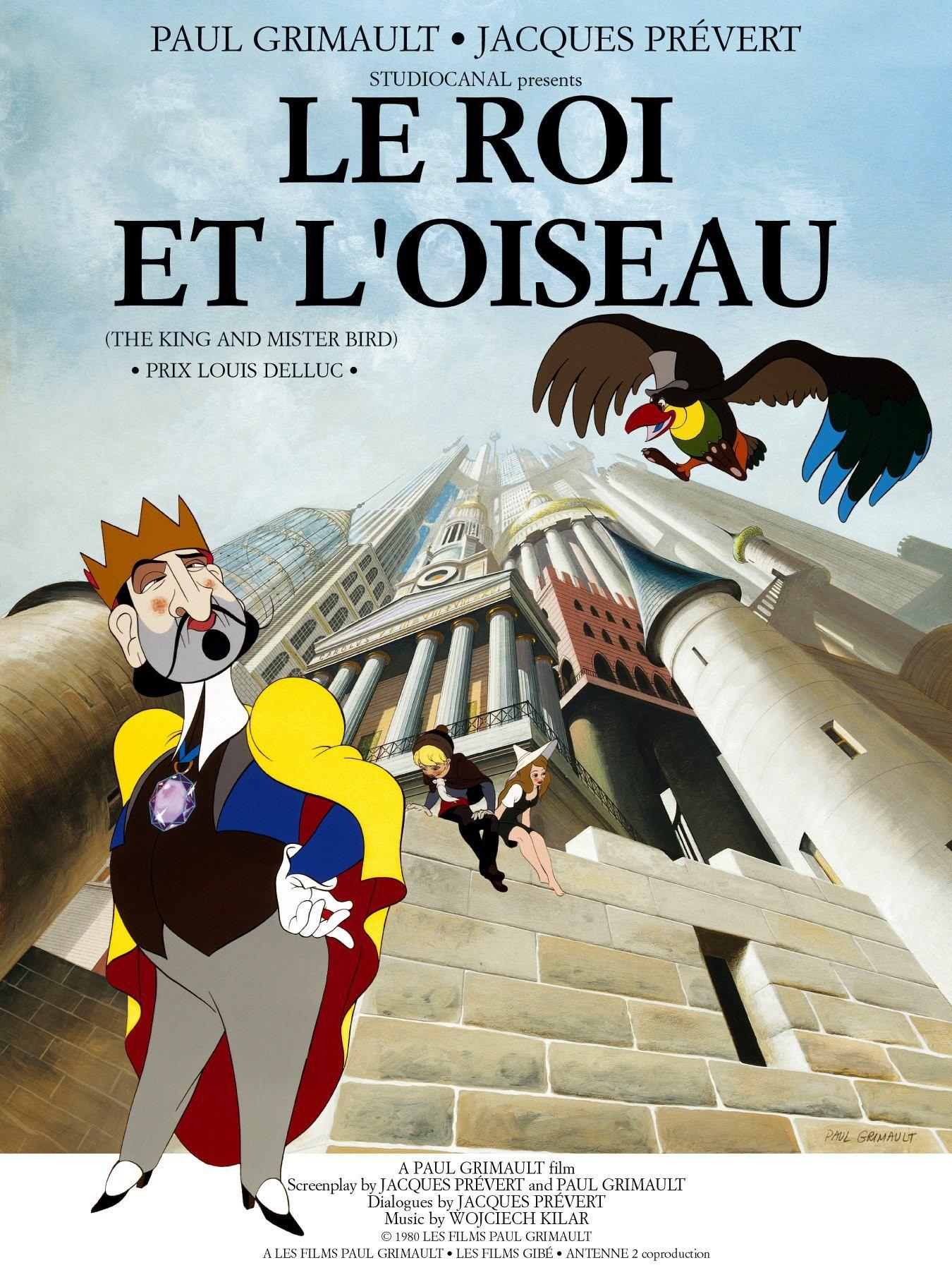 Le roi et l'oiseau Grimaut / Prévert Film d'animation