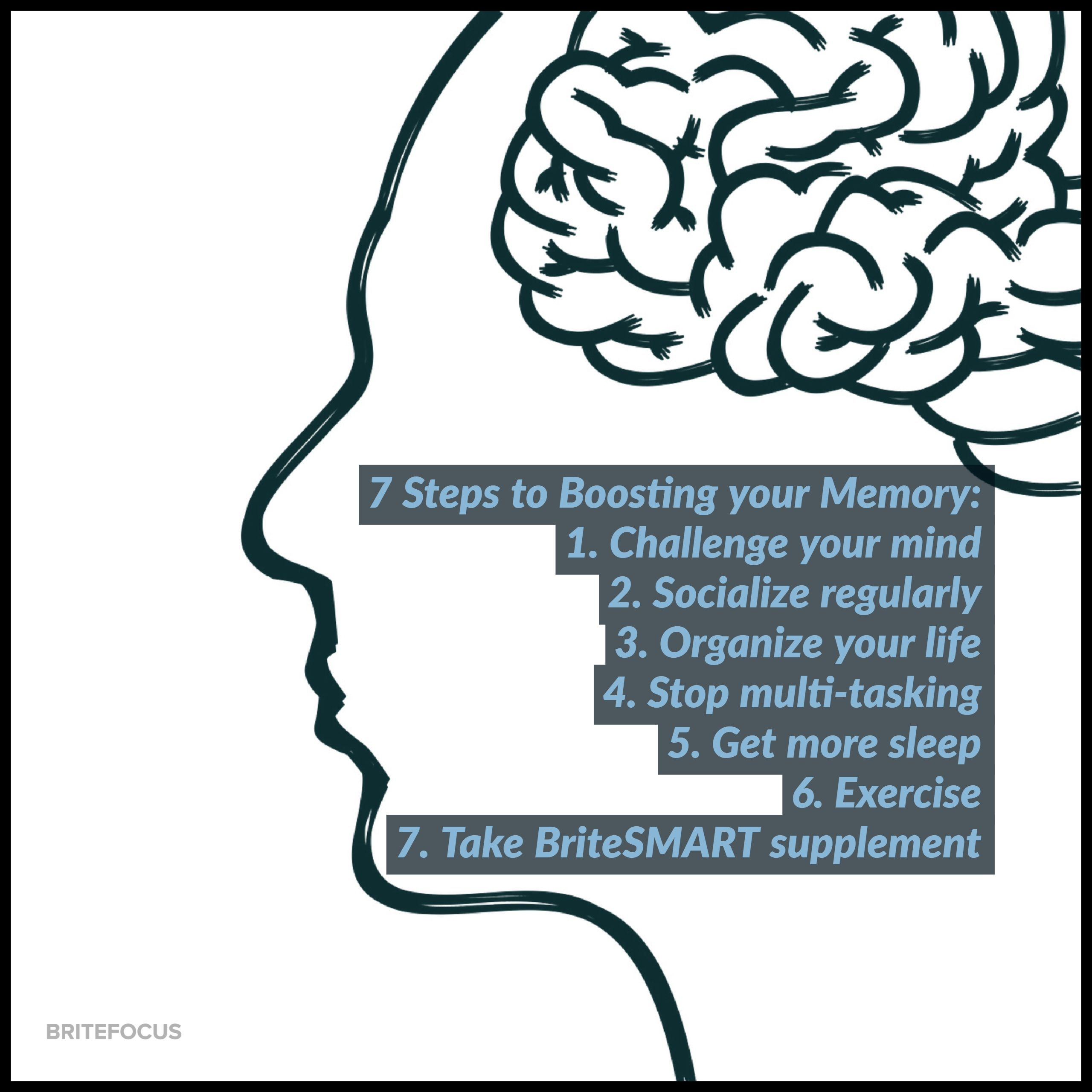 Pin by BriteFocus, Inc. on Excercise The Brain Brain
