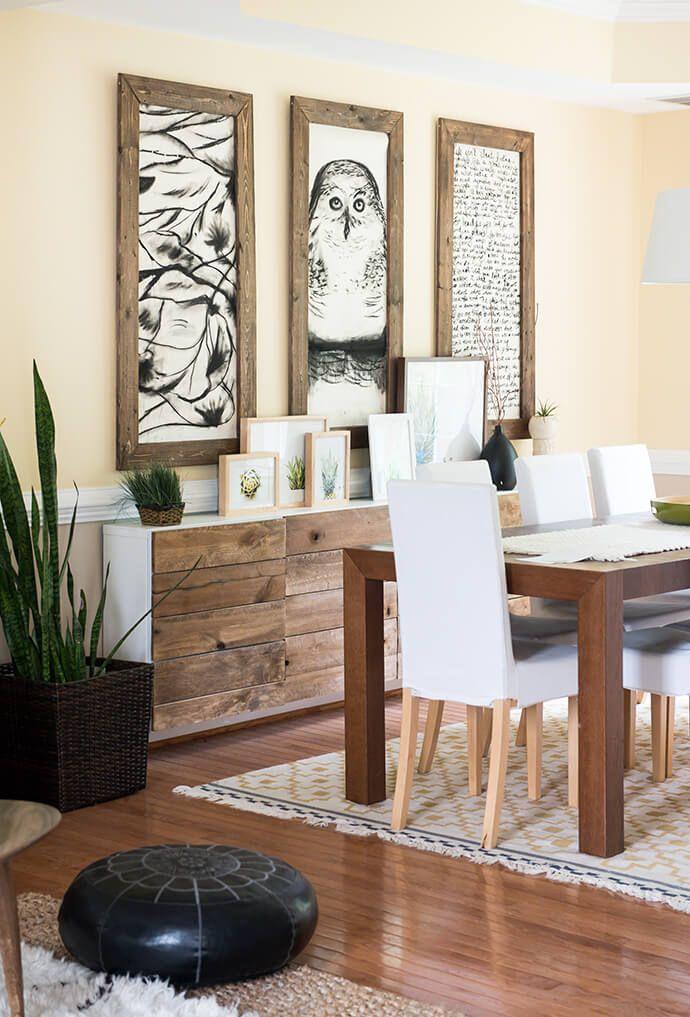 Einrichtung, Esszimmer Inspiration, Esszimmer, Handmade Home, Moderne  Esszimmer, Koordinierende Farben, Wohnen Auf Engstem Raum, Akzentwand,  Restaurierung