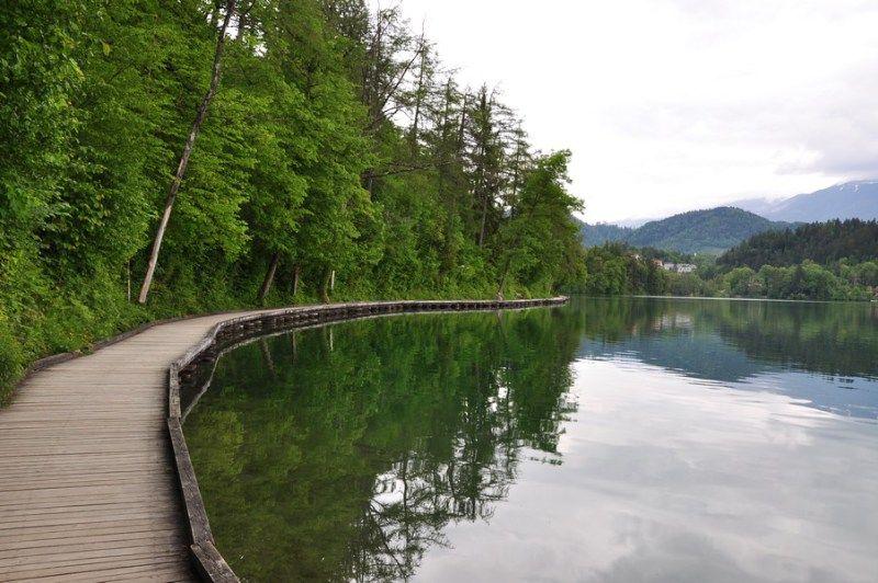 Bled, Eslovênia - Caminhada em volta do lago