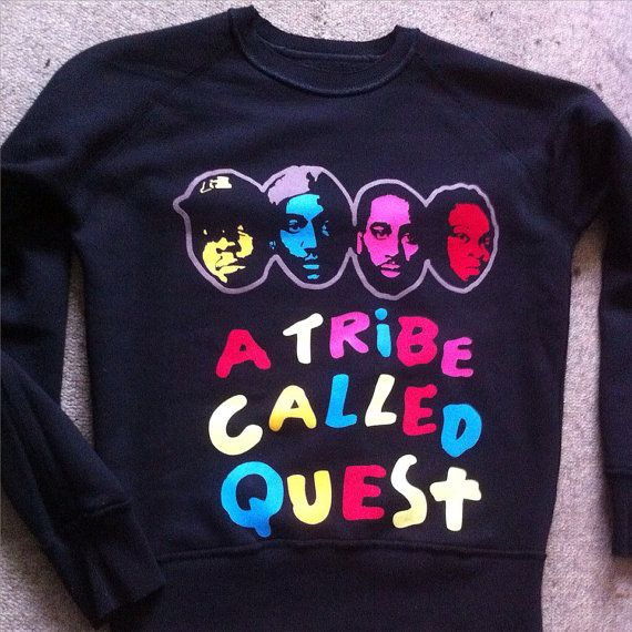 A Tribe Called Quest Sweater by AdSol on Etsy