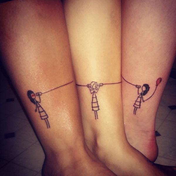 Best Friend Tattoos: 110 Super Cute Designs for BFFs | Tattoos ...