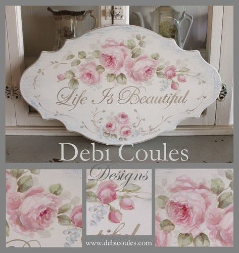 Life is Beautiful Design Packet Printed by Debi Coules