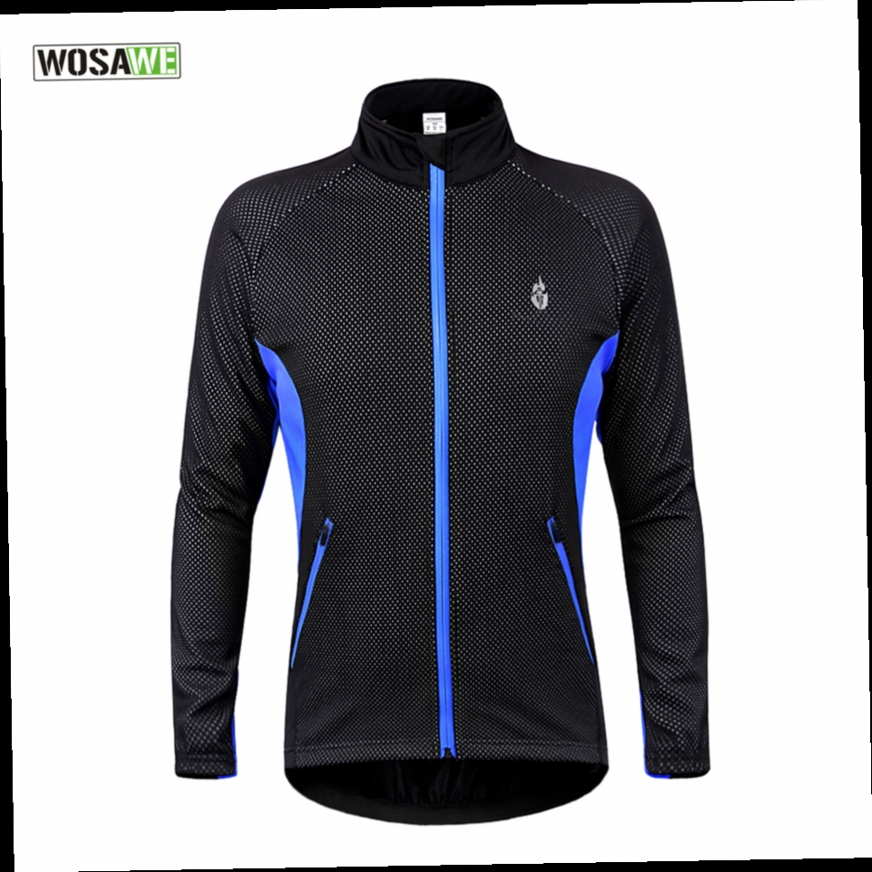 44.27$  Buy here - http://alifuc.worldwells.pw/go.php?t=32770694211 - WOSAWE Winter Thermal Fleece Cycling Jacket Windproof Warmer Bike Bicycle Jacket Sport Cycling Jersey Clothing*