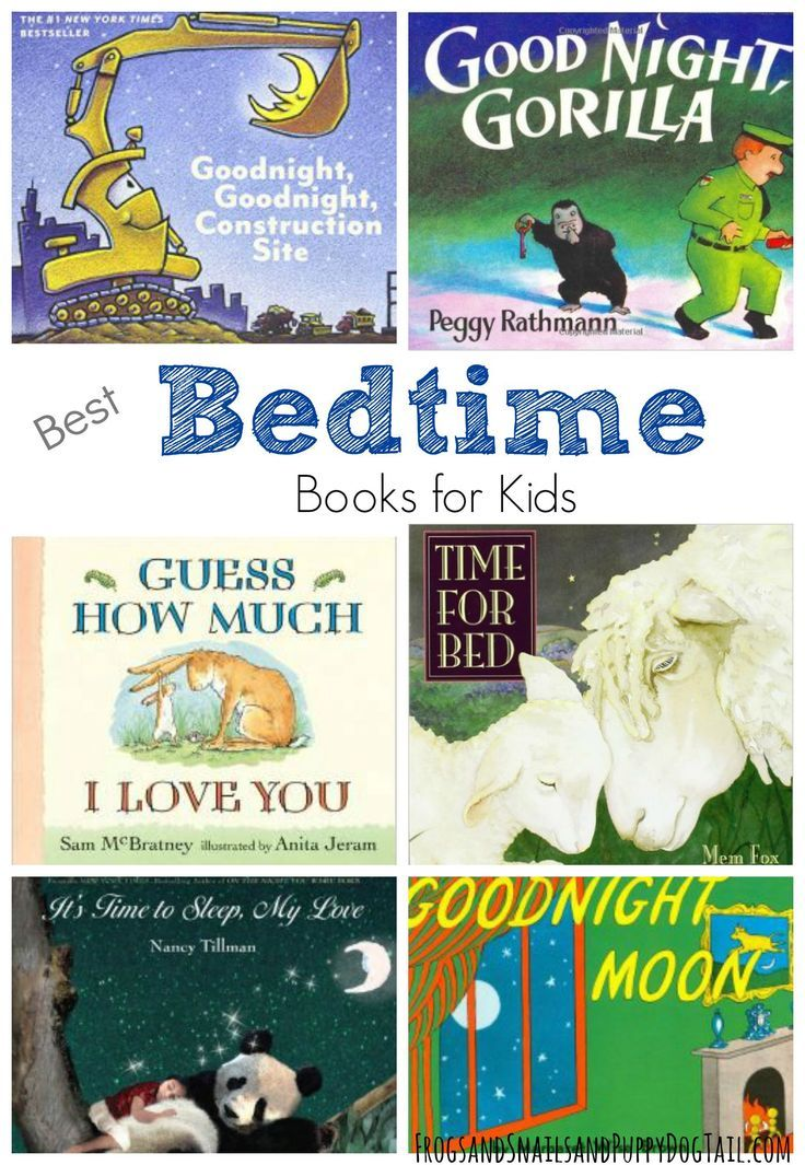 Bedtime Books for Kids - Children book list
