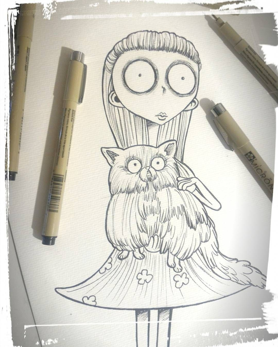 Rodrigo Cardoso On Instagram Frankenweenie Nankin On Paper Disney Movies Animation Stopmotion Timburton Disney Drawings Artist Inspiration Stop Motion