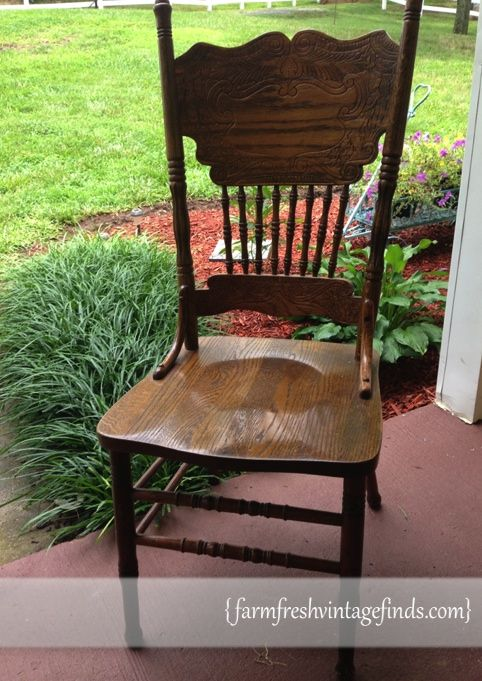 Do You Have A Chair Like This See How I Transformed This