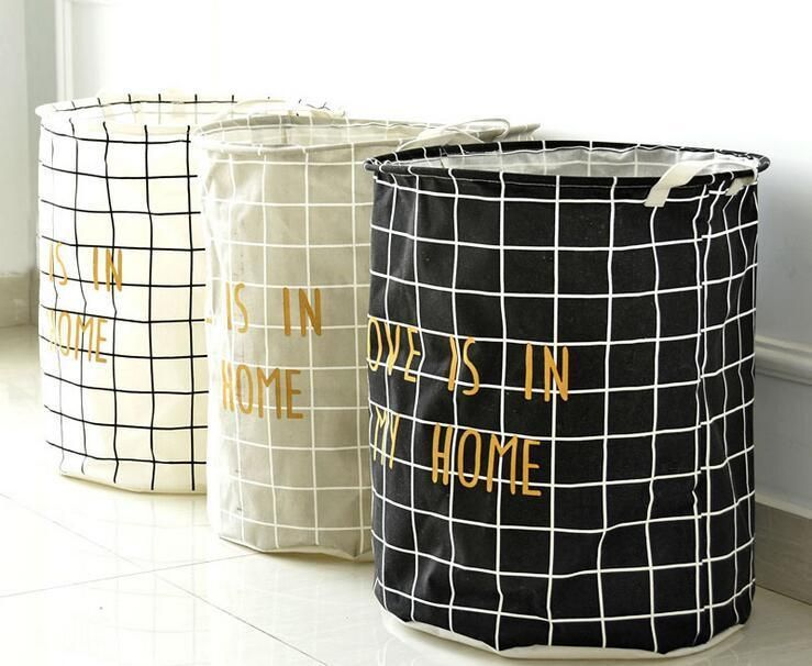 Large Laundry Sorter Delectable Large Laundry Basket Bathroom Laundry Hamper Storage Bag Bath Sorter Decorating Inspiration