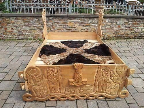 Viking Bed Viking Bed Viking Decor Viking House