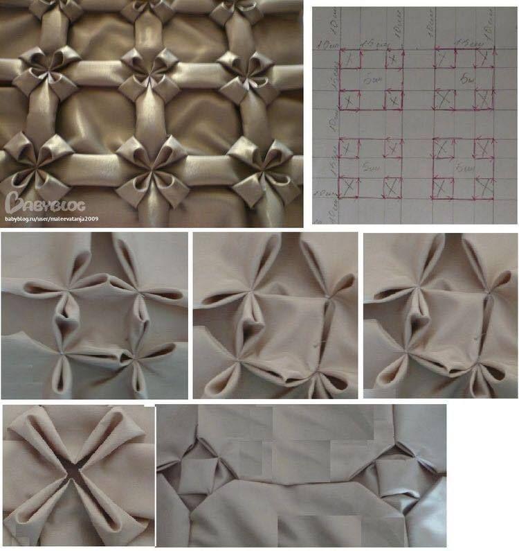Fashion is Art made of Fabric. #fabricmanipulation