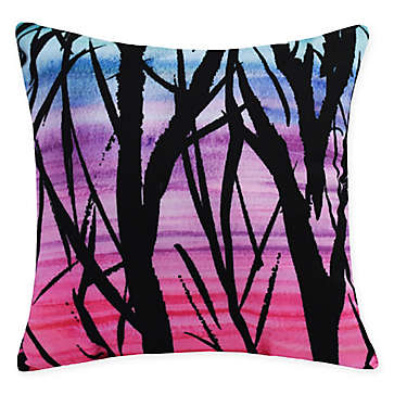 Blue Purple Throw Pillow | Bed Bath & Beyond in 2020 | Purple
