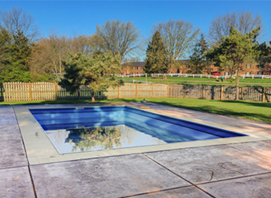 Inground pools from kayak pools are virtually maintenance free schedule your pool consultation for Above ground swimming pool maintenance guide