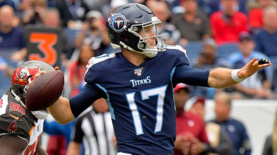 Numbers don't lie Tannehill turns Titans into playoff