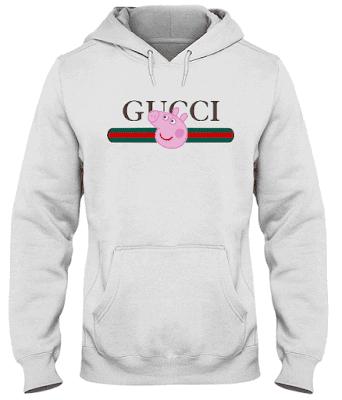 Peppa Pig Gucci T Shirt Hoodie Sweatshirt Tank Top Teeshirtpublic
