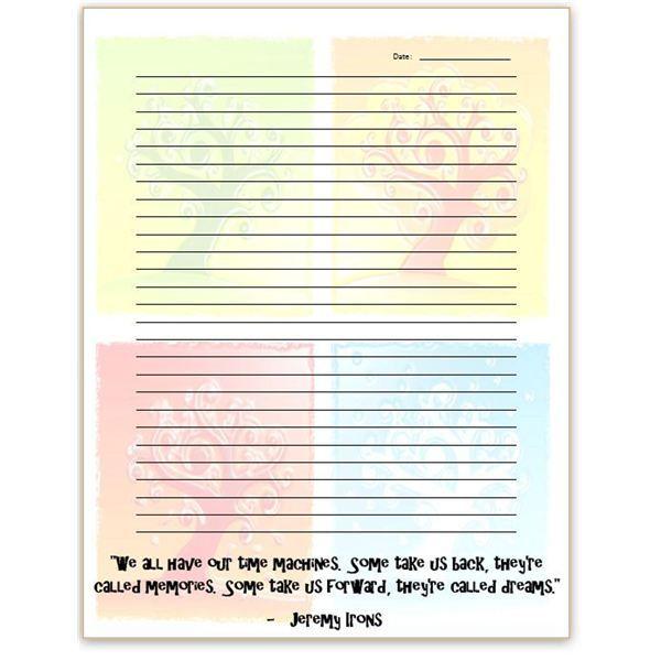 journal templates