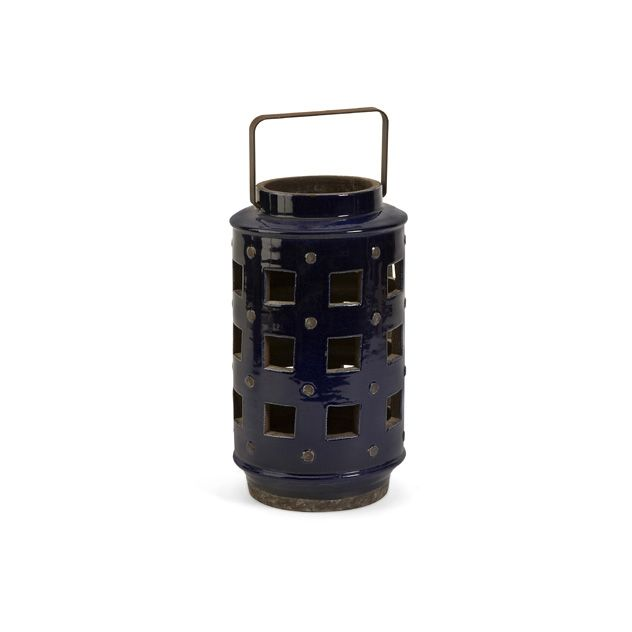 Audric Small cutwork lantern