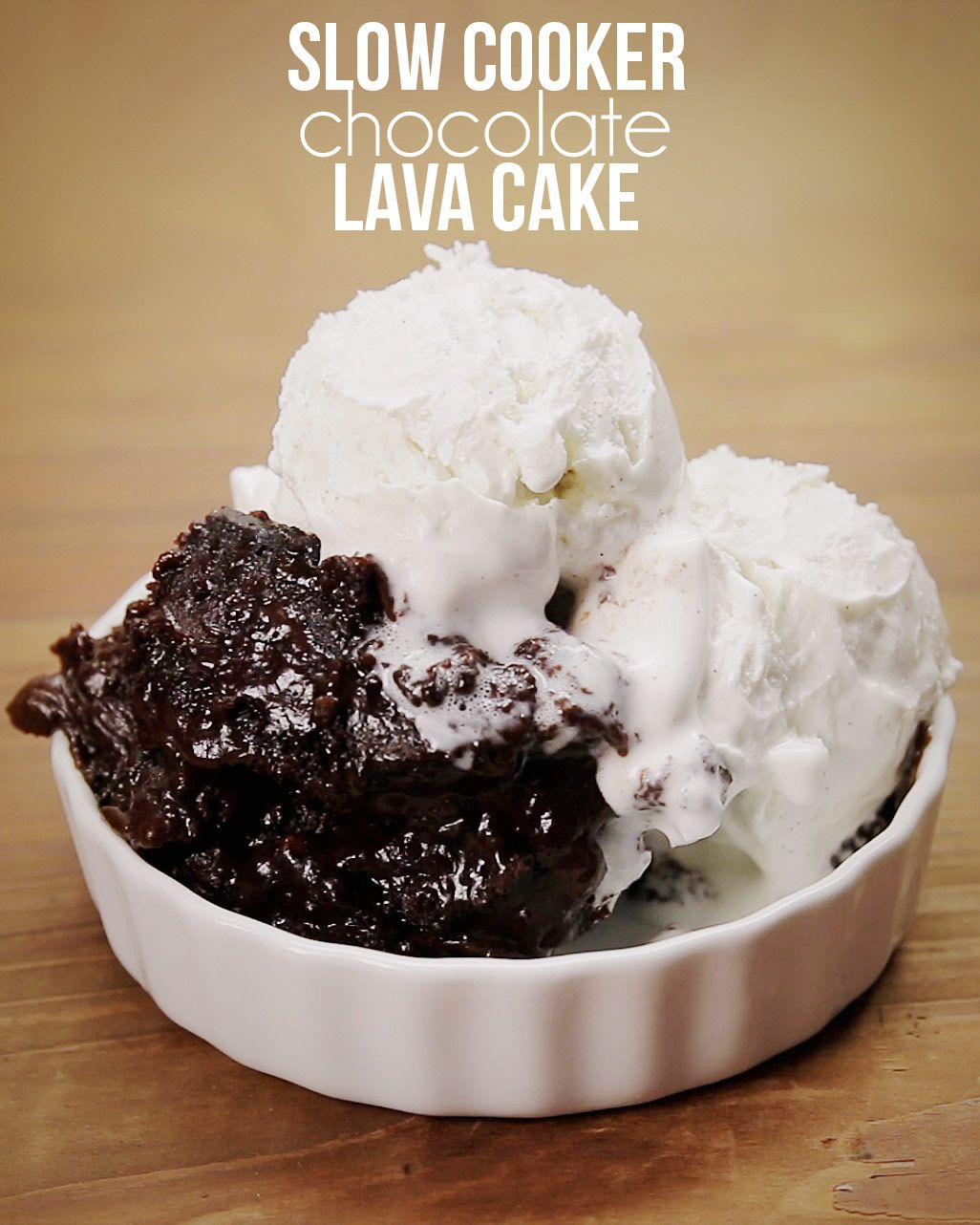 Slow Cooker Chocolate Lava Cake | crock it | Pinterest | Chocolate ...