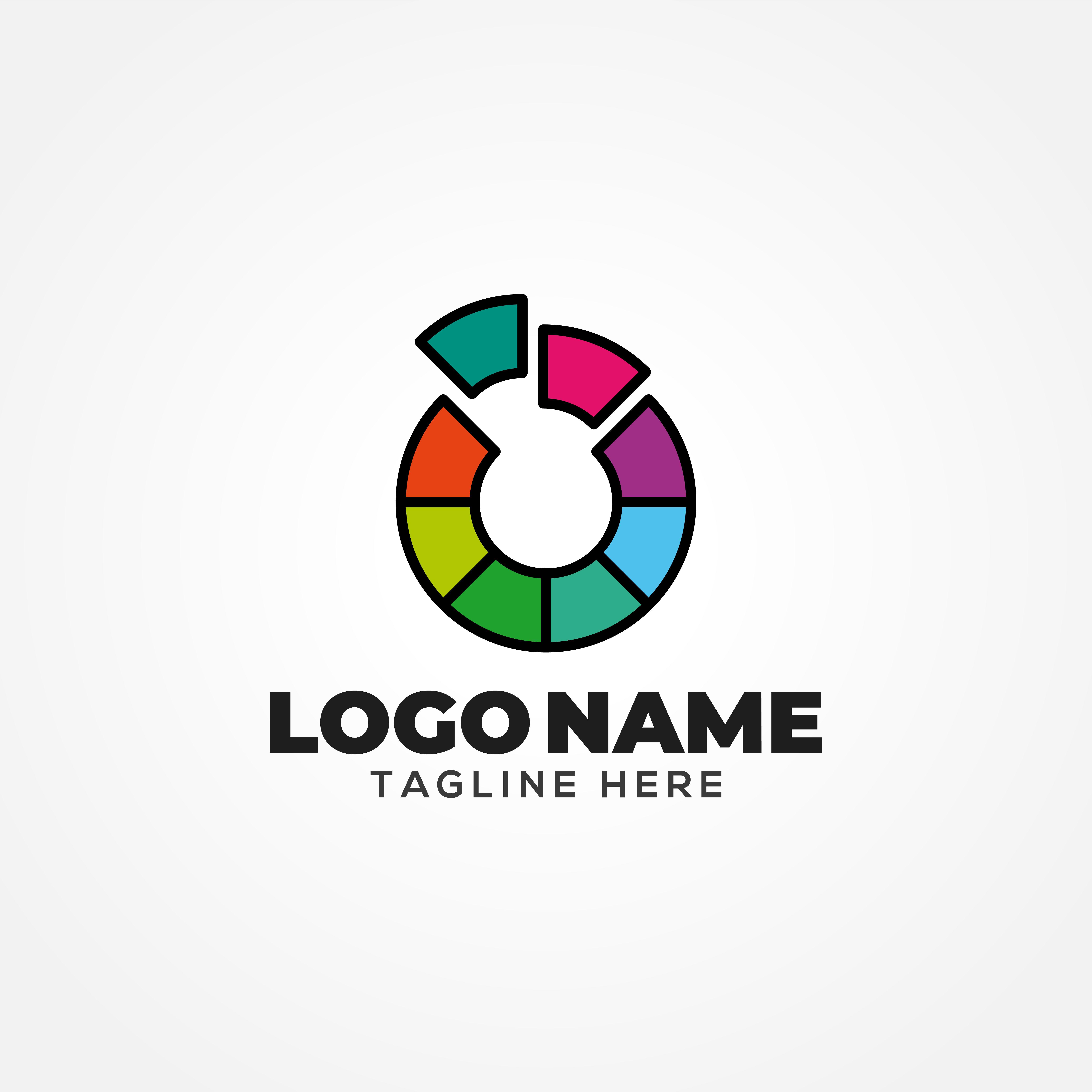 O Letter Logo Template Letter logo, Logo templates