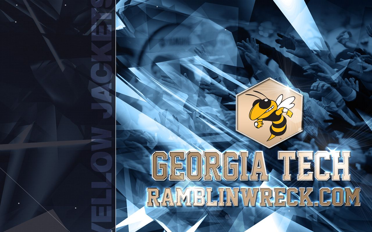 georgia tech football wallpapers group 1024×768 georgia tech, Powerpoint templates