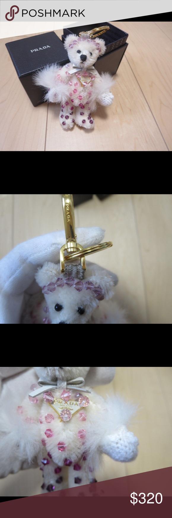 Prada bear keychain Comes with box Prada Accessories