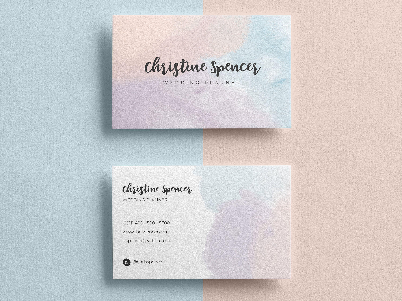 Business Card Template Custom Business Cards Business Card Etsy In 2021 Printable Business Cards Artist Business Cards Business Card Inspiration