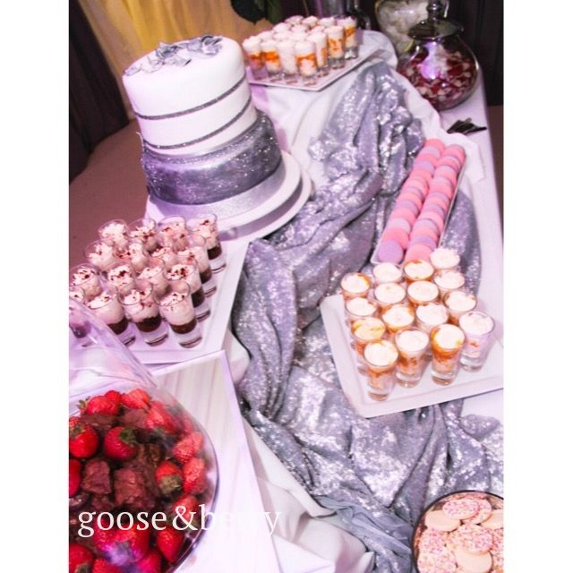 Dessert Table Patisserie Station Styling Wedding Event Caterers