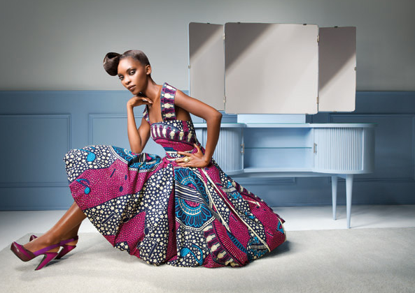 """Collage de Vie"""" by Vlisco – Feast your eyes on these elegant ..."""