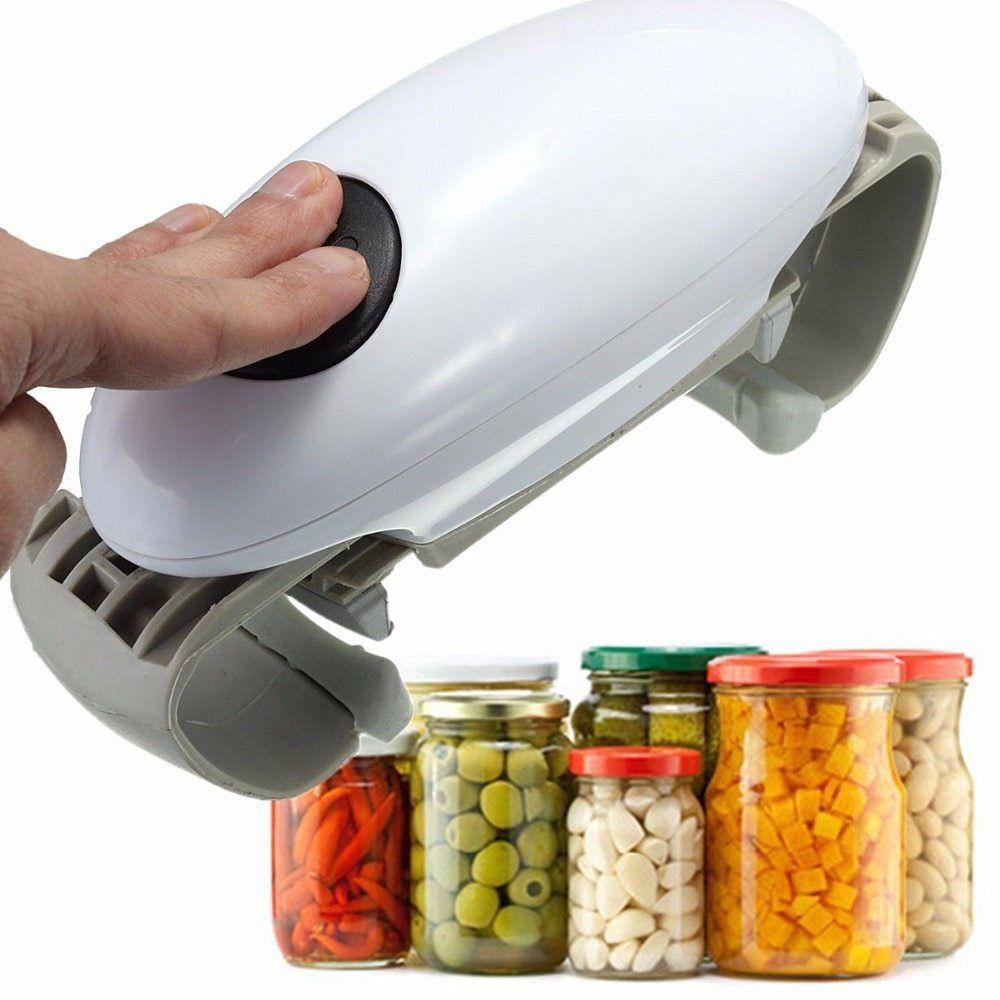 Easy jar opener can opener open kitchen jar