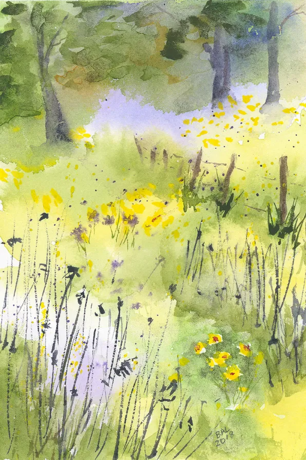 Guest Artist You Re Never Too Old It S Never Too Late By Bette Ann Laberge Doodlewash In 2021 Wasserfarben Kunstler Landschaftsbilder Aquarell Landschaften