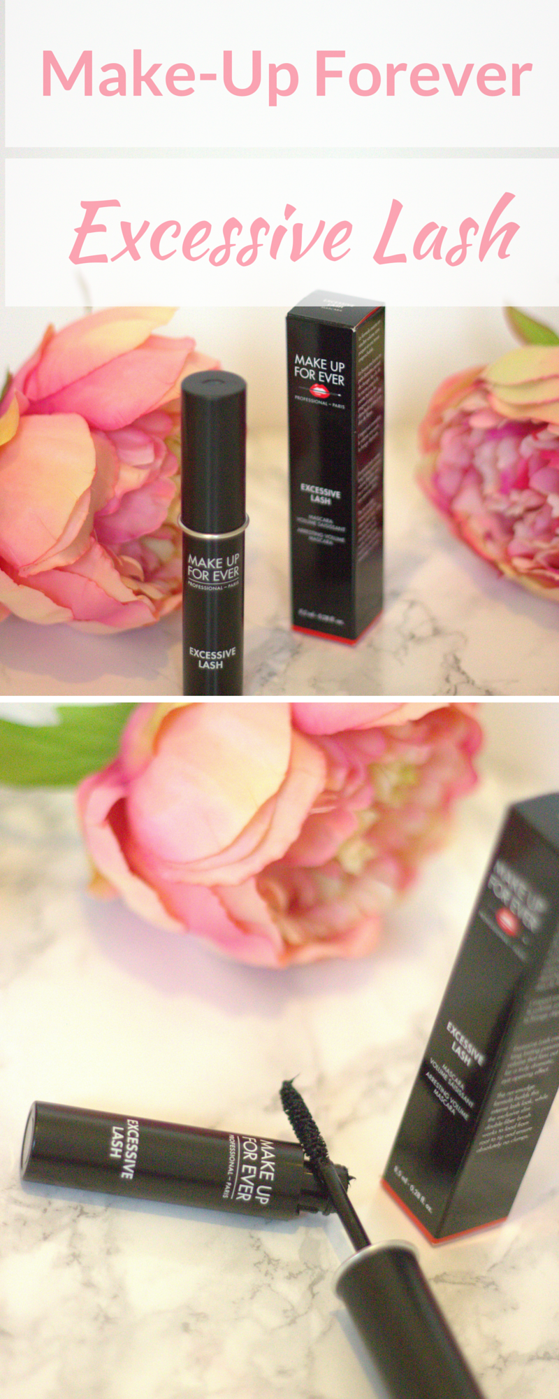 Make Up For Ever Excessive Lash Mascara Review (With
