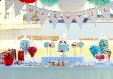 Decoracion Cumpleanos 1 Ano Varon Buscar Con Google Projects To