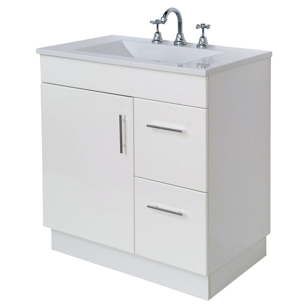 Cibo uber 1200 wall hung vanity from reece - Finlay Smith Low Profile 3 Hole Vanity Basin 750mm 174masters Home Improvement